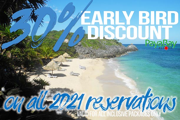 30% Off Early Booking 2001