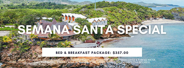 2021 Semana Santa Bed and Breakfast Special