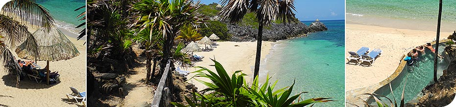 Paya Bay Resort - Roatan, Honduras : Beaches & Coves : Bliss Beach