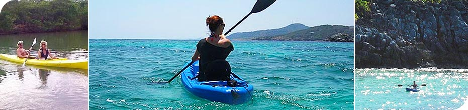 Paya Bay Resort - Roatan, Honduras : Sea Kayaking Expeditions