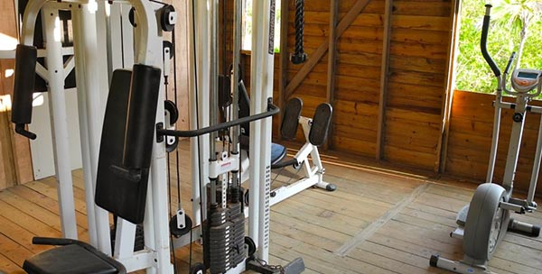 Paya Bay Resort: THE 'JUNGLE GYM' FITNESS CENTER