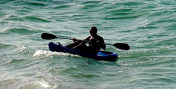 Paya Bay Resort: SEA KAYAKING EXPEDITIONS